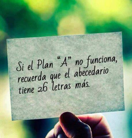 A falta de Plan A