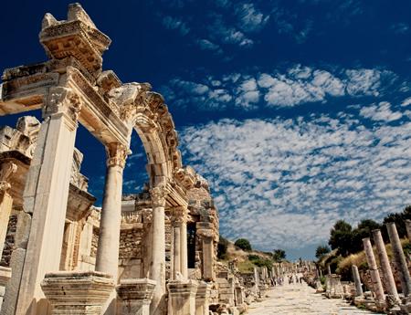 Construcciones de la antigua Turquía