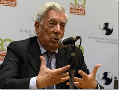 Vargas Llosa en Caracas 2014