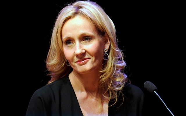 J. K. Rowling, autora de Harry Potter.